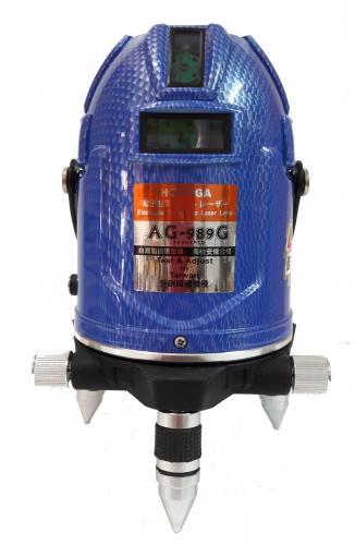 4V4H8P1D 附鋰電池 真綠光 電子式 自動整平 雷射水平儀
