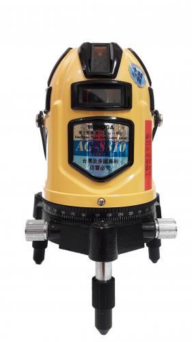 LV034 HOHOGA AG8810(三) 4v4h 電子式自動整平紅光雷射水平儀 6倍光(4倍光)